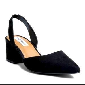 Steve Madden suede davies heeled sandals